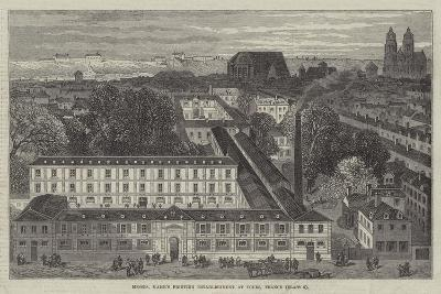 Messers Mame's Printing Establishment at Tours, France--Giclee Print