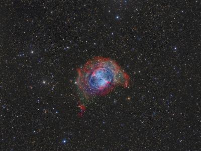 Messier 27, the Dumbbell Nebula--Photographic Print