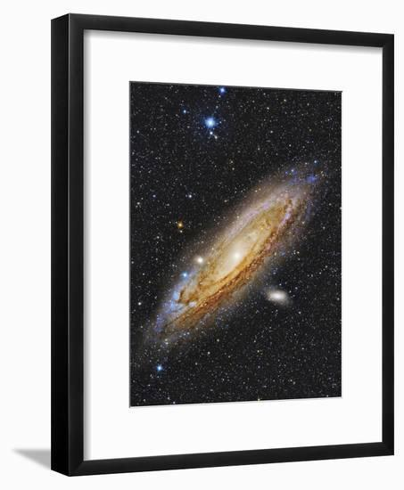 Messier 31, the Andromeda Galaxy--Framed Photographic Print