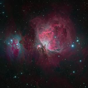 Messier 42, the Orion Nebula