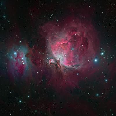 Messier 42, the Orion Nebula--Photographic Print