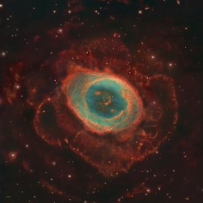 Messier 57, the Ring Nebula-Stocktrek Images-Photographic Print