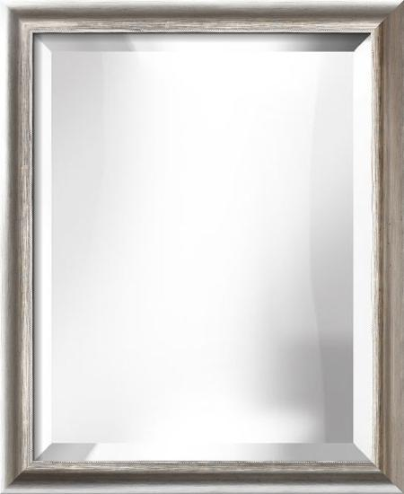 MESSINA Silver Mirror--Wall Mirror