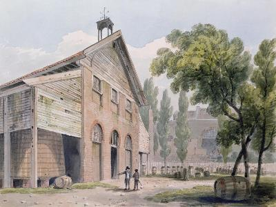 Messrs Beaufoy's Distillery, Formerly Cuper's Gardens, 1809-George Shepherd-Giclee Print