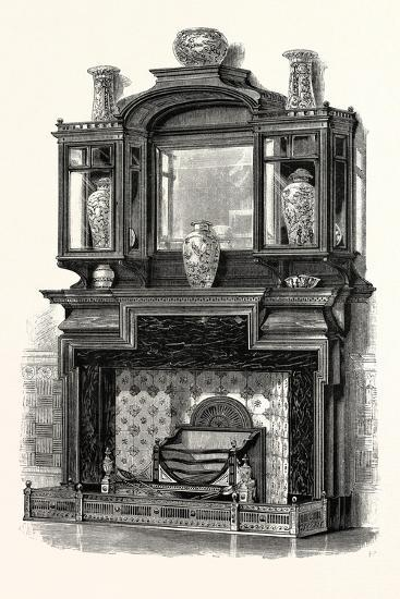 Messrs. G. Trollop and Sons, Chimney Piece, UK--Giclee Print