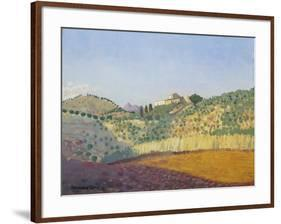 Métairie Des Abeilles-Derwent Lees-Framed Giclee Print