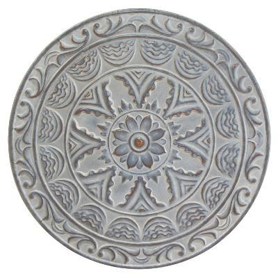 Metal Floral Medallion--Home Accessories