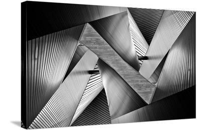Metal Origami-Koji Tajima-Stretched Canvas Print