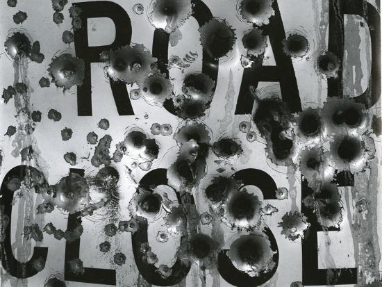 Metal Sign, c. 1975-Brett Weston-Photographic Print