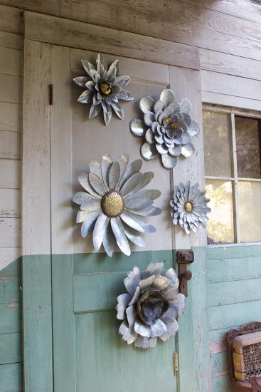 Metal Wall Flower Set--Home Accessories