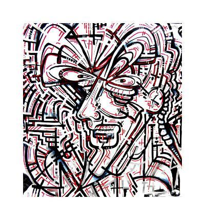 Metalface, 2011-Cram Concepts-Giclee Print