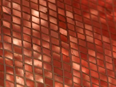 Metallic Copper Tiles Set into Ceramic--Photographic Print