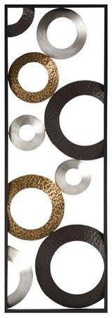 Metallic Geometric Panel