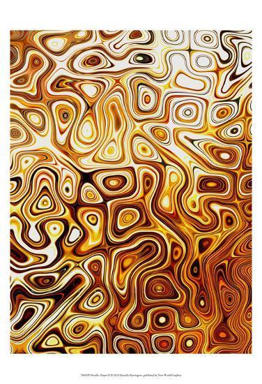 Metallic Shapes II-Danielle Harrington-Art Print