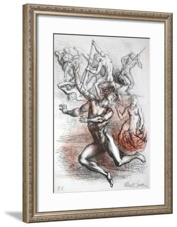 Metamorfosi di Ovidio 10-Marcello Tommasi-Framed Collectable Print