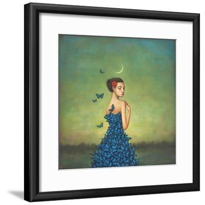 Metamorphosis in Blue-Duy Huynh-Framed Art Print