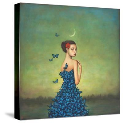 Metamorphosis in Blue-Duy Huynh-Stretched Canvas Print