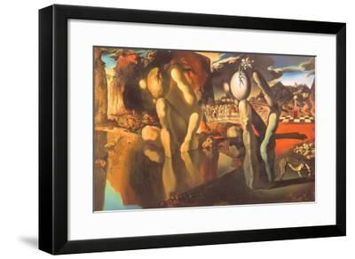 Metamorphosis of Narcissus, 1937-Salvador Dalí-Framed Art Print