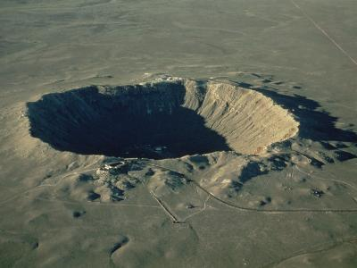 Meteor Crater, the Largest Known in the World, Arizona, USA-Ursula Gahwiler-Photographic Print
