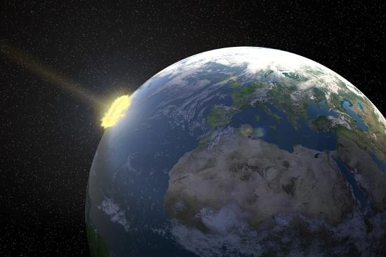 Meteor Impact, Artwork--Photographic Print