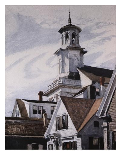 Methodist Church, Provincetown-Edward Hopper-Giclee Print