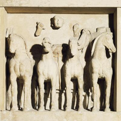 Metope Depicting Apollo's Chariot from Temple C--Giclee Print