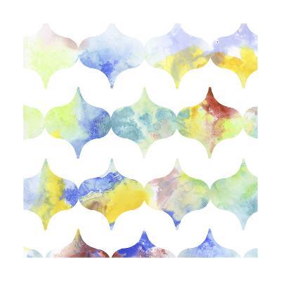 Metric Watercolors II-Jennifer Goldberger-Art Print