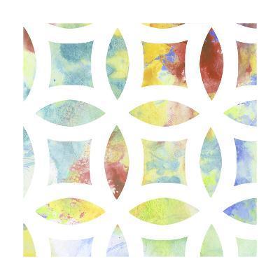 Metric Watercolors IV-Jennifer Goldberger-Art Print