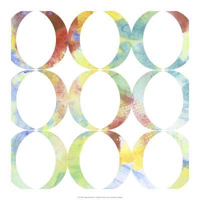 Metric Watercolors V-Jennifer Goldberger-Art Print