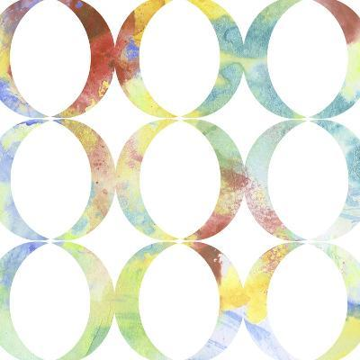 Metric Watercolors V-Jennifer Goldberger-Art Print