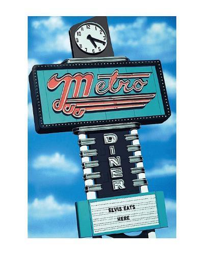Metro Diner-Anthony Ross-Art Print