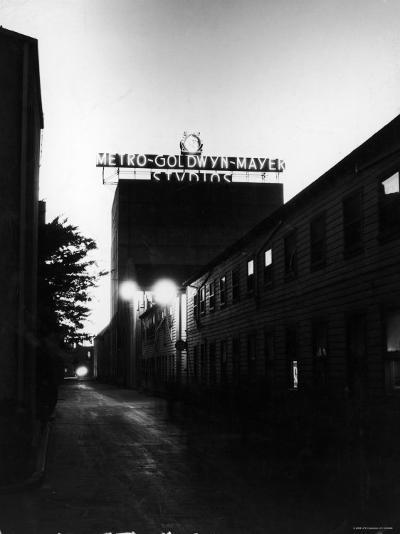 Metro Goldwyn Mayer Film Studios--Photographic Print