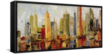 Metro Heights-Dupre-Framed Canvas Print