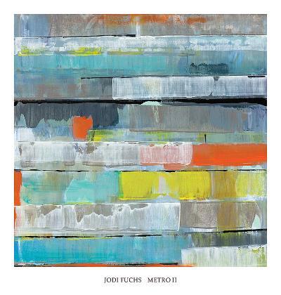 Metro II-Jodi Fuchs-Art Print