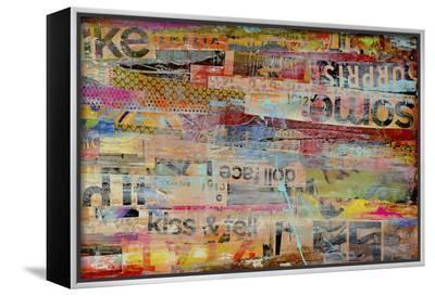 Metro Mix II-Erin Ashley-Framed Canvas Print