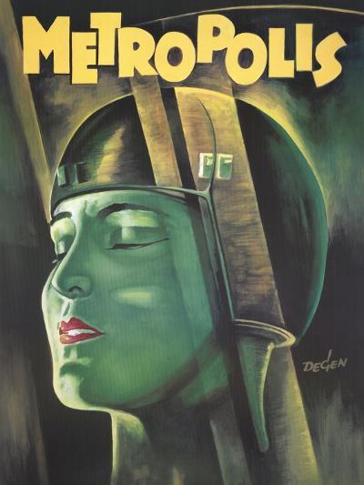 Metropolis, 1926--Art Print