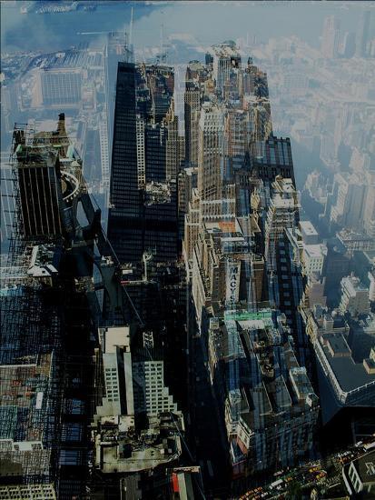 Metropolis VII-David Studwell-Giclee Print