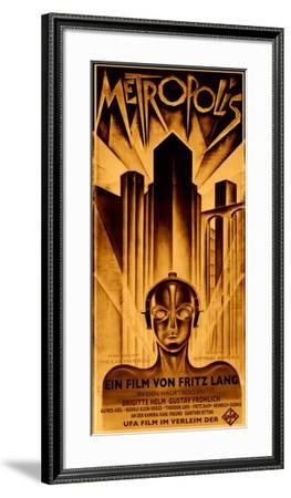 Metropolis-Schulz-Neudamm-Framed Giclee Print