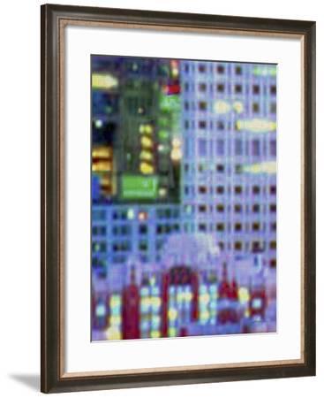 Metropolitain III-James Burghardt-Framed Art Print