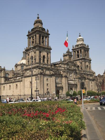 Metropolitan Cathedral, Zocalo, Mexico City, Mexico, North America-Wendy Connett-Photographic Print