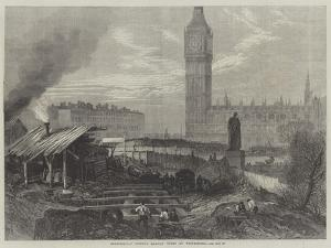 Metropolitan District Railway Works at Westminster