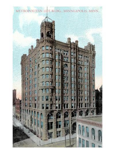 Metropolitan Life Building, Minneapolis, Minnesota--Art Print