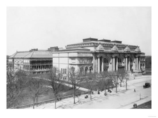 Metropolitan Museum of Art NYC Photo - New York, NY-Lantern Press-Art Print