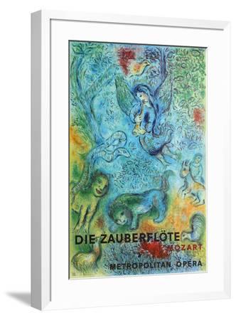 Metropolitan Opera, The Magic Flute-Marc Chagall-Framed Premium Edition