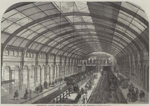 Metropolitan Railway Western Extension, Interior of the Kensington Station