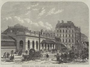 Metropolitan Railway Western Extension, the Paddington Station