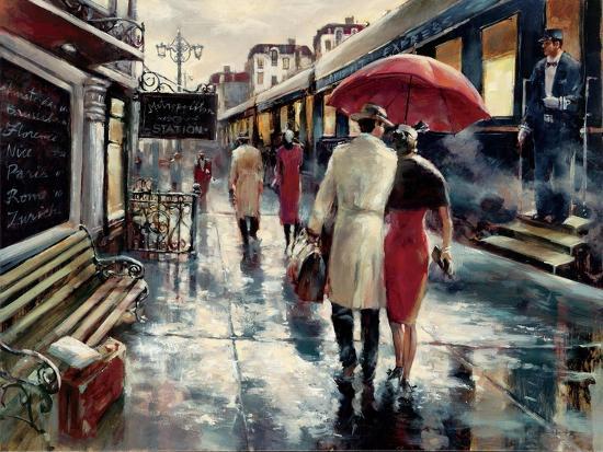 Metropolitan Station-Brent Heighton-Art Print
