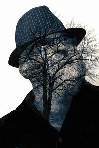 Collage of the Man in Eyepieces and A Tree by metrs