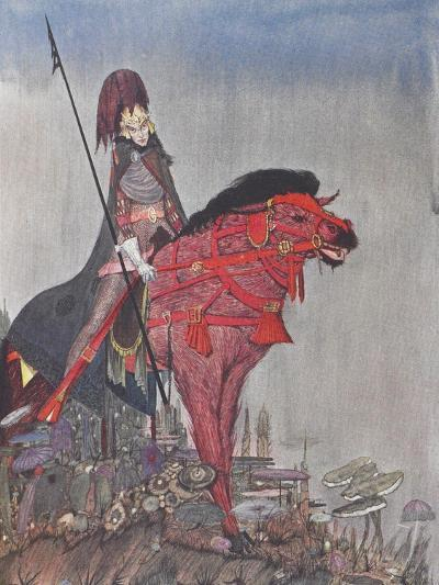 Metzengertstein-Harry Clarke-Giclee Print