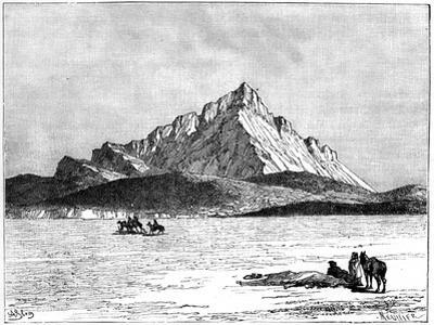 The Jebel Zaghwan, C1890 by Meunier